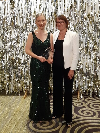Angie Savva and Susan Templeman at 2019 Altitude Awards
