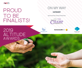 Angie Savva Finalist 2019 Altitude Awards On My Way Award
